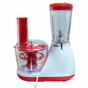 Mixeur 2 en 1 – 400ML 150W Rouge